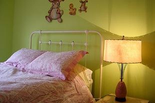 Винтаж детская спальня