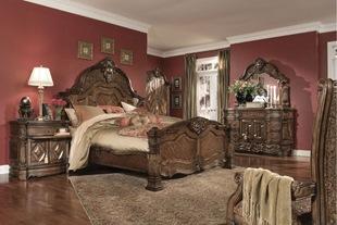 Винтажные спальни