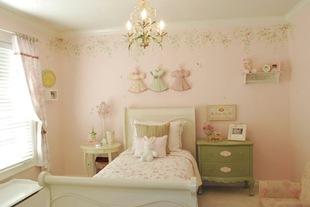 Винтаж спальня для ребенка